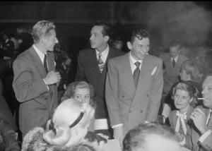 Frank Sinatra with Danny Kaye and friendsc. 1943 © 1978 Bill Dudas - Image 0337_0047
