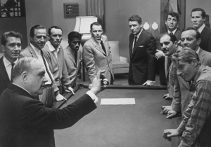 """Frank Sinatra and the cast of """"Ocean"""