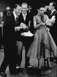 Frank Sinatra, Bing Crosby, DorothyLamour and Bob Hope on a 1962 CBS TV showPhoto By Gabi Rona - Image 0337_0304