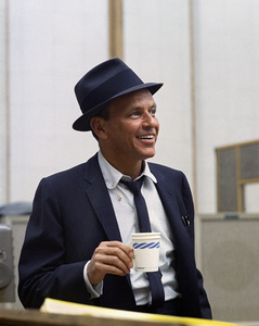 Frank Sinatra at a Capitol Records recording session in Los Angeles1954© 1978 Sid Avery - Image 0337_0510
