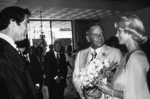 Frank Sinatra and Barbara Marxon their Wedding Day in 1976 © 1978 David Sutton - Image 0337_0556