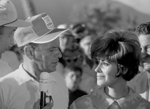 Frank Sinatra and Jill St. JohnPalm Springs, 1964 © 1978 David Sutton - Image 0337_0608