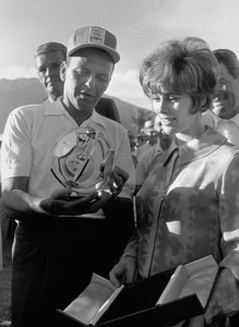 Frank Sinatra and Jill St. JohnPalm Springs, 1964 © 1978 David Sutton - Image 0337_0610