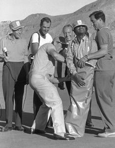 Frank Sinatra, Sammy Davis Jr. andDanny Thomas in Palm Springs / 1964 © 1978 David Sutton - Image 0337_0614