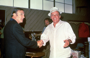 Frank Sinatra and Gene Kelly1973 © 1978 David Sutton - Image 0337_0623