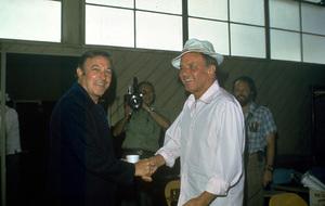 Frank Sinatra and Gene Kelly1973 © 1978 David Sutton - Image 0337_0624