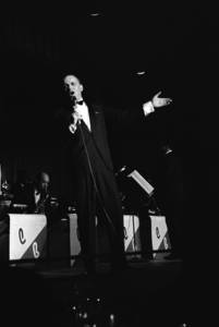 Frank Sinatra performing at the Sands Hotel in Las Vegas, Nevada1964 © 1978 David Sutton - Image 0337_0635