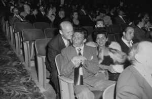 Frank Sinatra with his wife Nancy and Axel Stodahlc. 1943 - Image 0337_0726