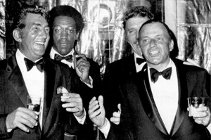 Frank Sinatra, Dean Martin, Bill Cosby and Burt Lancaster at a benefit for the Roger Baldwin Foundation of the ACLU / 1969 - Image 0337_0758
