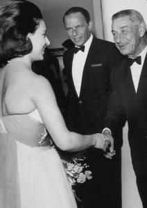 Frank Sinatra and Mike Romanoff meet Princess Margaret / c. 1960 © 1978 Ted Allan - Image 0337_0764