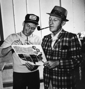 Frank Sinatra and Bing Crosbycirca 1964 © 1978 Ted Allan - Image 0337_0768