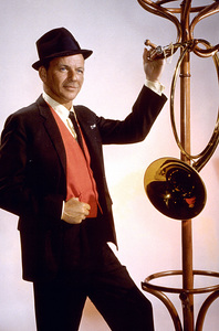 """Frank Sinatrapublicity shot for """"Come Blow Your Horn."""" c. 1963 © 1978 Ted Allan - Image 0337_0790"""