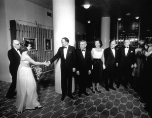 Frank Sinatra and Mike Romanoff meeting Princess Margaret / c. 1960 © 1978 Ted Allan - Image 0337_0851