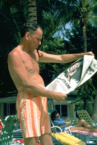 Frank Sinatra in Mexico1962 © 1978 Ted Allan - Image 0337_0905