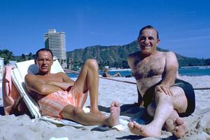 Frank Sinatra in Honolulu, Hawaii1962 © 1978 Ted Allan - Image 0337_0910