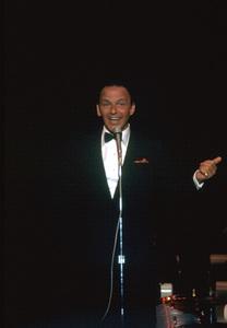 Frank Sinatra at the Cal Neva.  1962 © 1978 Ted Allan