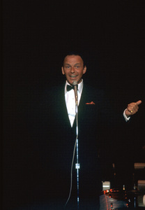 Frank Sinatra at the Cal Neva. 1962 © 1978 Ted Allan - Image 0337_0963