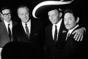 Frank Sinatra visits Mexico1962 © 1978 Ted Allan - Image 0337_0978