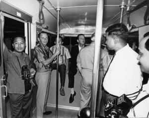 Frank Sinatra visiting Japan circa 1964  © 1978 Ted Allan