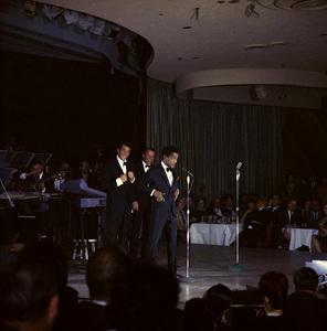 Frank Sinatra, Dean Martin and Sammy Davis Jr. performingcirca 1960 © 1978 Ted Allan - Image 0337_0988