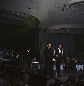 Frank Sinatra, Dean Martin and Sammy Davis Jr. performingcirca 1960 © 1978 Ted Allan - Image 0337_0989