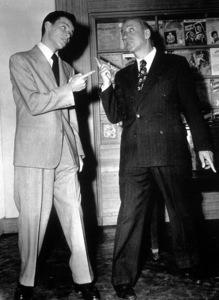 Frank Sinatraand Jimmy Durantec. 1942 - Image 0337_1021