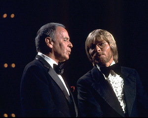 "Frank Sinatra and John Denver""Sinatra and Friends"" 1977 ABC TV Special © 1978 Bud Gray - Image 0337_1025"
