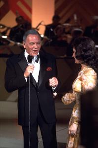 "Frank Sinatra ""Sinatra and Friends"" 1977 ABC TV Special © 1978 Bud Gray - Image 0337_1027"