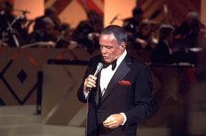 "Frank Sinatra ""Sinatra and Friends"" 1977 ABC TV Special © 1978 Bud Gray - Image 0337_1029"