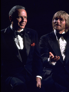 "Frank Sinatra and John Denver""Sinatra and Friends"" 1977 ABC TV Special © 1978 Bud Gray - Image 0337_1032"
