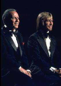 "Frank Sinatra and John Denver""Sinatra and Friends"" 1977 ABC TV Special © 1978 Bud Gray - Image 0337_1038"