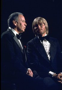 "Frank Sinatra and John Denver""Sinatra and Friends"" 1977 ABC TV Special © 1978 Bud Gray - Image 0337_1041"