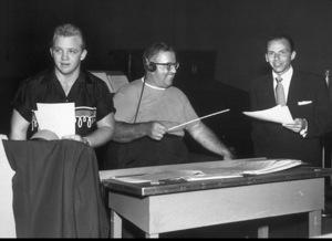 Frank Sinatra with Gary Crosby and John Scott Trotter / 1954 Phptp By Gabi Rona - Image 0337_1046