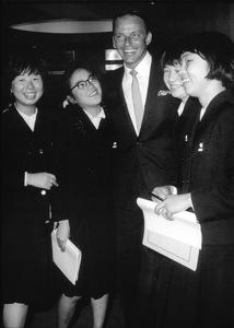 Frank Sinatra visiting Japanc. 1964 © 1978 Ted Allan - Image 0337_1119