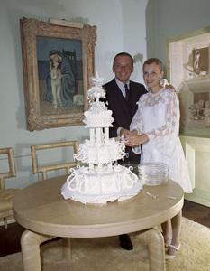 Frank Sinatra and Mia Farrow on their wedding day1966 © 1978 Ted Allan - Image 0337_1129