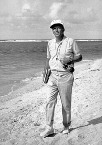 """Frank Sinatra in Hawaii, off the set of """"None But The Brave""""  / 1965 © 1978 David Sutton - Image 0337_1132"""