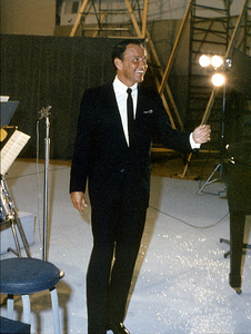Frank Sinatra in a recording sessionc. 1961 © 1978 Ted Allan - Image 0337_1133