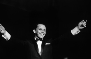 Frank Sinatra performing at The Sands Hotel in Las Vegas, Nevada1960 © 1978 Bob Willoughby - Image 0337_1143