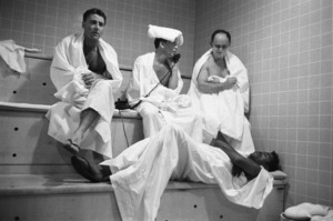 Peter Lawford, Frank Sinatra, Frank