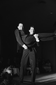Frank Sinatra and Dean Martin performing at the Sands Hotel in Las Vegas1960 © 1978 Bob Willoughby - Image 0337_1149