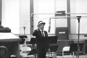 Frank Sinatra at a recording session / c. 1962 © 1978 Bernie Abramson - Image 0337_1179