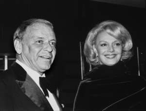 Frank Sinatra and wife Barbara at the Scopus Awards 1980© 1980 David Sutton - Image 0337_1189