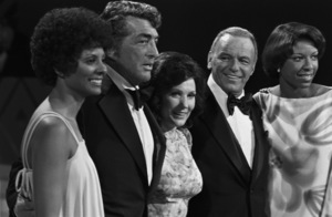 """Sinatra and Friends""Leslie Uggams, Dean Martin, Loretta Lynn, Frank Sinatra, Natalie Cole1977 © 1978 Bud Gray - Image 0337_1228"