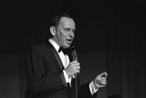 Frank Sinatra performing at The Sands Hotel in Las Vegas, Nevada1964 © 1978 David Sutton - Image 0337_1230