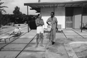 Frank Sinatra and his valet George Jacobscirca 1962© 1978 Bernie Abramson - Image 0337_1231