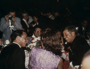 Frank Sinatra with Patricia Lawford and John F. Kennedycirca 1960 © 1978 Bernie Abramson - Image 0337_1246