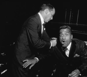 Frank Sinatra and Sammy Davis Jr. 1963 © 1978 David Sutton - Image 0337_1263