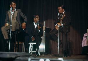 Frank Sinatra, Dean Martin and Sammy Davis Jr.circa 1965 © 1978 David Sutton - Image 0337_1273
