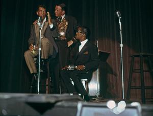 Frank Sinatra, Dean Martin and Sammy Davis Jr.circa 1965 © 1978 David Sutton - Image 0337_1274