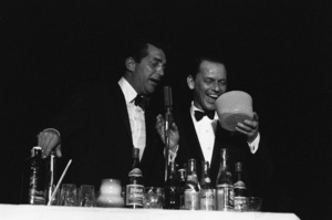Frank Sinatra and Dean Martin at the Sands Hotel in Las Vegas1960 © 1978 Bob Willoughby - Image 0337_1292